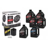 Комплект Maxima V-TWIN TWIN-CAM Oil Change Kit - Syntetic [Black]
