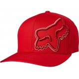 Кепка FOX EPICYCLE FLEXFIT HAT [RED/WHITE]