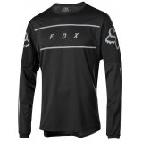 Вело джерси FOX FLEXAIR FINE LINE JERSEY [BLACK]
