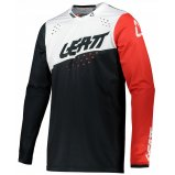 Мото джерси LEATT Jersey GPX 4.5 Lite [Black White]