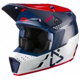 Мотошлем LEATT Helmet GPX 3.5 V21.3 [Red Blue]