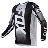 Мото джерси FOX 180 OKTIV JERSEY [Black/White]