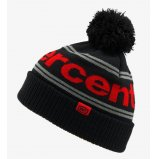 Шапка Ride 100% RISE Cuff Beanie Pom [Black/Red]