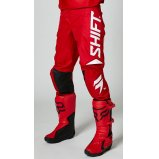Мото штаны SHIFT WHITE LABEL TRAC PANT [RED]