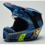 Мотошлем FOX V3 RS MAWLR HELMET [Dusty Blue]