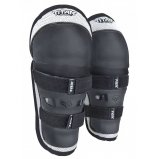 Детские наколенники FOX PeeWee Titan Knee/Shin [Black/Silver]